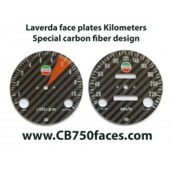 laverda face plates speedometer tacho meter clocks gauges