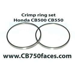 Honda CB550 crimp ring set (2 pcs) for Nippon Seiki gauges