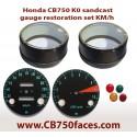 Honda CB750 K0 gauge restoration set