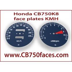 Honda CB750 K8 face plates