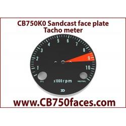 CB750 K0 face plate tacho
