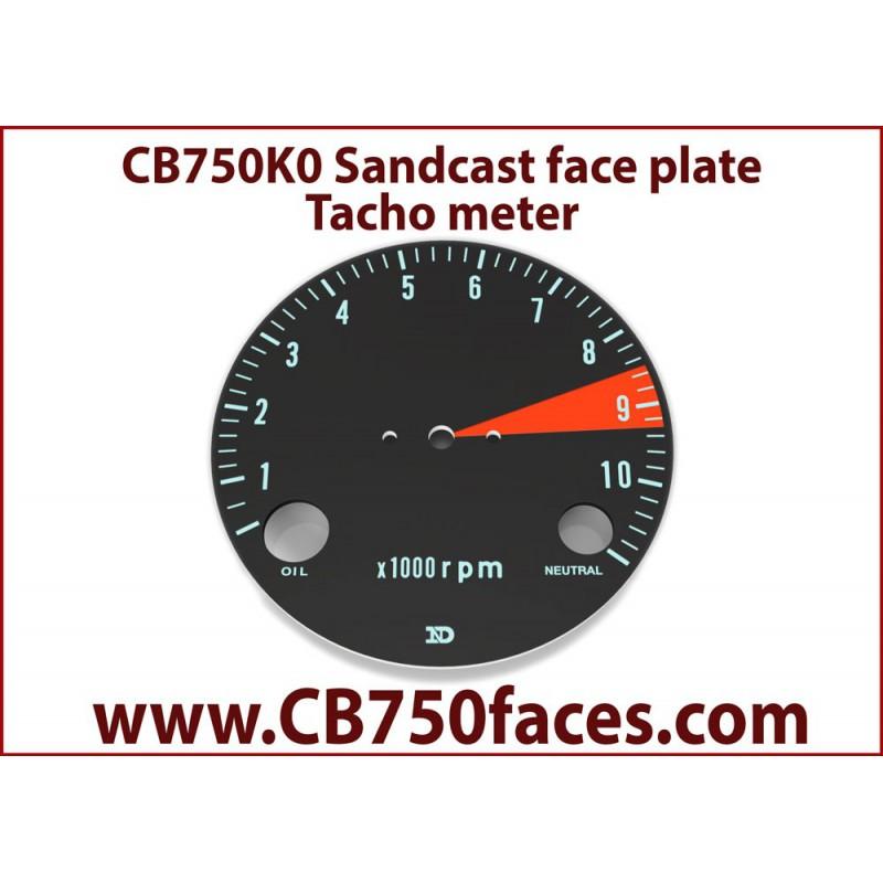 CB750 K0 face plate tacho meter