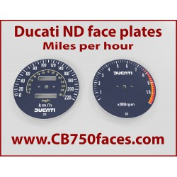 Ducati Darmah Pantah 900SS 500SL tellerplaten km/h