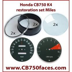 honda cb750 K4 gauge restoration set gauge clock instrument