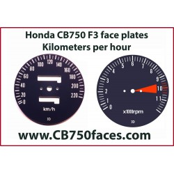 Honda CB750 F3 face plates