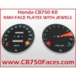Honda CB750 K1 face plates km/h