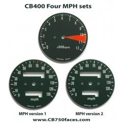 Honda CB400F Tachoscheiben mph