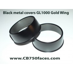 Honda GL1000 K0 GoldWing black covers