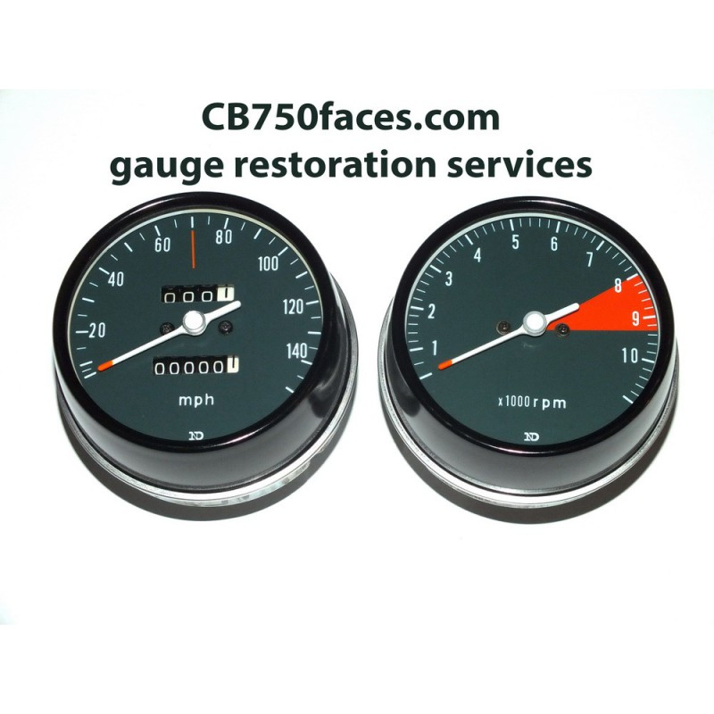 Honda CB750 K2 Gauge restoration service