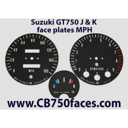 Suzuki GT750 J & K tellerplaten mph